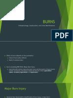 Pathophysiology of Burn Injury
