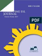 philippine linguistics joural