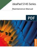 Lenovo S145 Hardware Maintenance Manual