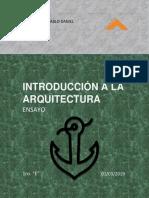 ENSAYO LOS 10 LIBROS DE VITRUVIO Y ANDREA PALLADIO