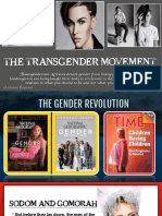 17. The TRANSGENDER Movement-  Gender Revolution and Religious Liberty Threatened