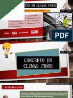 Concretos en Climas Frios Presentaciones Final