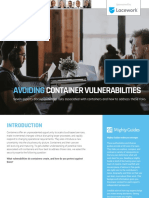 Avoiding Container Vulnerabilities