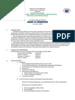 Accomplishment Report 2017-2018