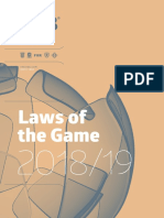 IFAB -  LAWS OF THE GAME