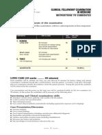 Medicine FCPS II Oral Exam