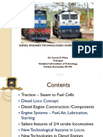 SDM Diesel Loco Engines PPT for Students