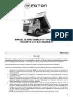 Manual Mantenimmiento Volquetas 4x2 Foton