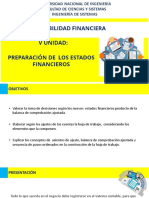 UNI-CF-V Unidad- Preparación de Los Estados Financieros