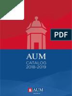 AUM Catalog 2018-2019