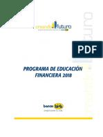 Educa c i on Financier a 2018