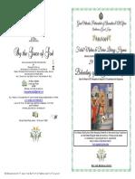2019-29 Aug -Matlit Hymns- Beheading of St John the Baptist