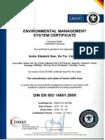 ISO 14001-2009 Environmental Management