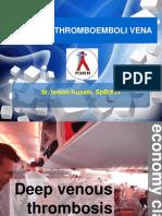 1. Penyakit Thromboemboli Vena - Dr Ismon