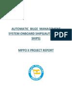 Automatic Bilge System
