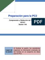 14A-100000N01I Preparación Para La PC2 (Diapositivas) 2018-3
