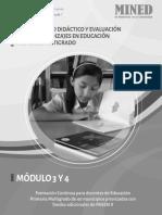 Planeamiento y Evaluación de Los Aprendizajes