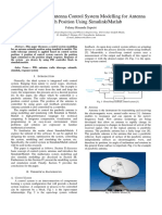 Radio Telescope Antenna Control System Modelling for Antenna Azimuth Position Using Simulink/Matlab