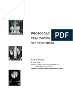 Protocolo  de nefrectomia