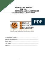 Lab Manual ECE132
