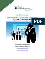 E-book Modalidades de Licitação