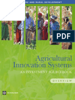 Agricultural Innovation Systems