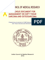 MANAGEMENT OF SOFT TISSUE SARCOMA AND OSTEOSARCOMA
