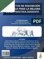 Proyectos de Innovación Didactica Para La Mejora de La Práctica Docente