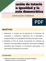 Convivencia Democrática en El Aula
