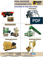 Agricultural Machines 9