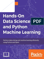Hands-On Data Science and Python Machine Learning