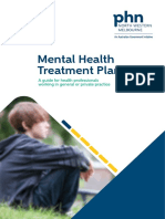 Mental Health Treatment Plans North Western Melbourne PHN