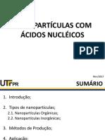 NANOPARTÍCULAS COM ÁCIDOS NUCLÉICOS