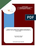 Tesis Doctoral de HAZAEL ALFONZO. Agroecología y Agricultura Campesina Sustentable