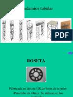 Componentes de un andamio