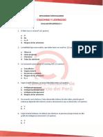Coaching y Liderazgo - Modulo i