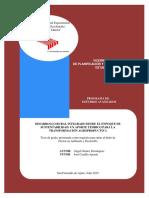 Tesis Doctoral de Ángel Gómez. Desarrollo Rural Integrado Desde El Enfoque de Sustentabilidad.