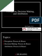 Perception_Decision Making_Attribution