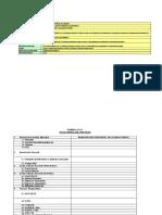 Formatos Ejecucion Fe-01 Al Fe-16