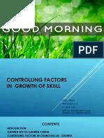 Controlling Factors in Craniofacial Growth