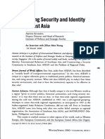 Amitav Acharya-Constructing Security and Identity in Southeast Asia