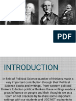 UGC NET Political Science Books and Thin