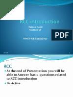 RCC Introduction