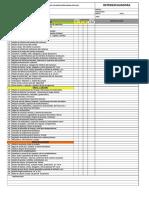 Check List Diadio - Retroexcavadora 420E