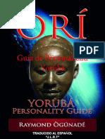 ORI Yoruba Personality Guide Raymond Ogunade