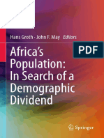 Hans Groth, John F. May (Eds.) - Africa's Population_ in Search of a Demographic Dividend-Springer International Publishing (2017)