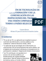2 Las TICs Como Herramienta Para La Inspeccion Del Trabajo - OIT