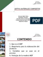 expocision manufactura aditiva materiales compuestos MDF