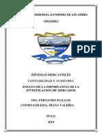 ENSAYO INVESTIGACION DE MERCADOS.docx