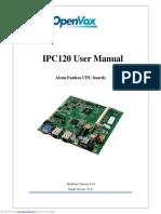 IPC120 User Manual